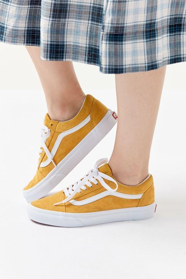 """<p>You can't go wrong with these <a href=""""https://www.popsugar.com/buy/Vans-Old-Skool-Suede-Sneakers-490375?p_name=Vans%20Old%20Skool%20Suede%20Sneakers&retailer=urbanoutfitters.com&pid=490375&price=65&evar1=fab%3Aus&evar9=44311634&evar98=https%3A%2F%2Fwww.popsugar.com%2Ffashion%2Fphoto-gallery%2F44311634%2Fimage%2F46754589%2FVans-Old-Skool-Suede-Sneakers&list1=shopping%2Cshoes%2Csneakers%2Choliday%2Cgift%20guide%2Cfashion%20gifts%2Cgifts%20for%20women&prop13=mobile&pdata=1"""" rel=""""nofollow"""" data-shoppable-link=""""1"""" target=""""_blank"""" class=""""ga-track"""" data-ga-category=""""Related"""" data-ga-label=""""https://www.urbanoutfitters.com/shop/vans-old-skool-suede-sneaker6?category=SEARCHRESULTS&amp;color=080"""" data-ga-action=""""In-Line Links"""">Vans Old Skool Suede Sneakers</a> ($65).</p>"""