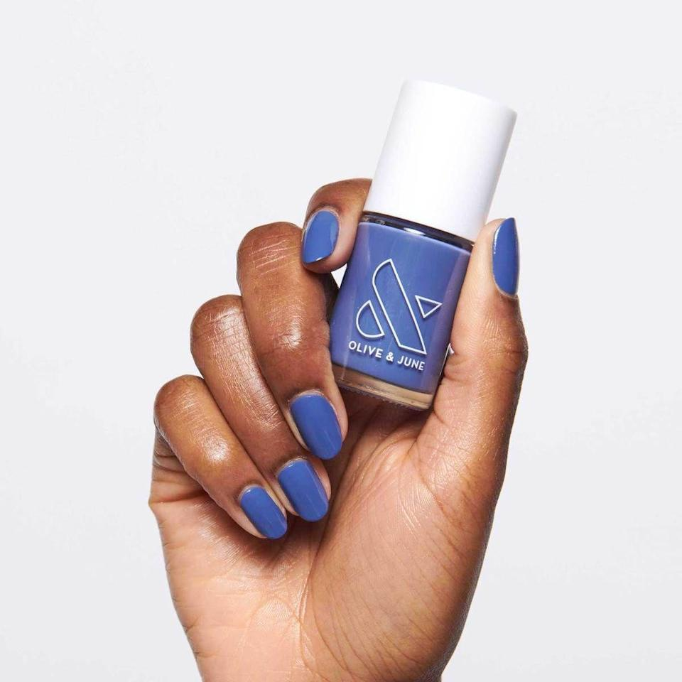 """<p><strong>Last year's deal: </strong>At-home manis are having a moment, and nobody does it better than Olive & June. Get the <a href=""""https://oliveandjune.com/products/the-everything-box"""" rel=""""nofollow noopener"""" target=""""_blank"""" data-ylk=""""slk:Everything Box"""" class=""""link rapid-noclick-resp"""">Everything Box</a> and more at 5% off site-wide + free shipping on orders of $15+. As an added bonus, get a free <a href=""""https://oliveandjune.com/products/cuticle-serum?_pos=1&_sid=92339ea2b&_ss=r"""" rel=""""nofollow noopener"""" target=""""_blank"""" data-ylk=""""slk:Cuticle Serum"""" class=""""link rapid-noclick-resp"""">Cuticle Serum</a> with any purchase of $50 or more, or a <a href=""""https://oliveandjune.com/products/the-k-i-t-kit?_pos=2&_sid=ebfd46d2d&_ss=r"""" rel=""""nofollow noopener"""" target=""""_blank"""" data-ylk=""""slk:K.I.T. Kit"""" class=""""link rapid-noclick-resp"""">K.I.T. Kit </a>with any purchase of $100 or more.</p><p><a href=""""https://oliveandjune.com/"""" rel=""""nofollow noopener"""" target=""""_blank"""" data-ylk=""""slk:Olive & June"""" class=""""link rapid-noclick-resp"""">Olive & June </a><a class=""""link rapid-noclick-resp"""" href=""""https://go.redirectingat.com?id=74968X1596630&url=https%3A%2F%2Foliveandjune.com%2F&sref=https%3A%2F%2Fwww.redbookmag.com%2Fbeauty%2Fg34669325%2Fblack-friday-cyber-monday-beauty-deals-2020%2F"""" rel=""""nofollow noopener"""" target=""""_blank"""" data-ylk=""""slk:SHOP""""> SHOP</a></p>"""