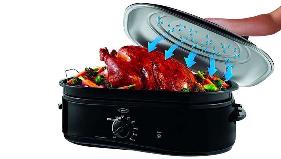 Who needs a roasting pan when you can have a roasting oven? (Photo: Walmart)