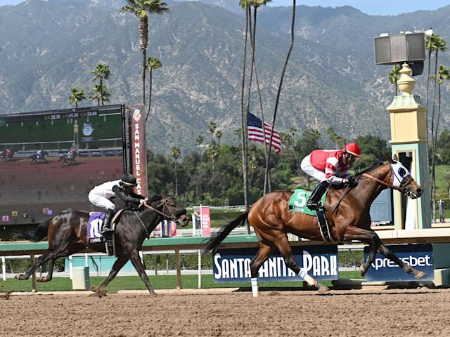 The root cause of Santa Anita's horrifying spike in horse deaths is still unknown. (Photo by Cynthia Lum/Icon Sportswire via Getty Images)