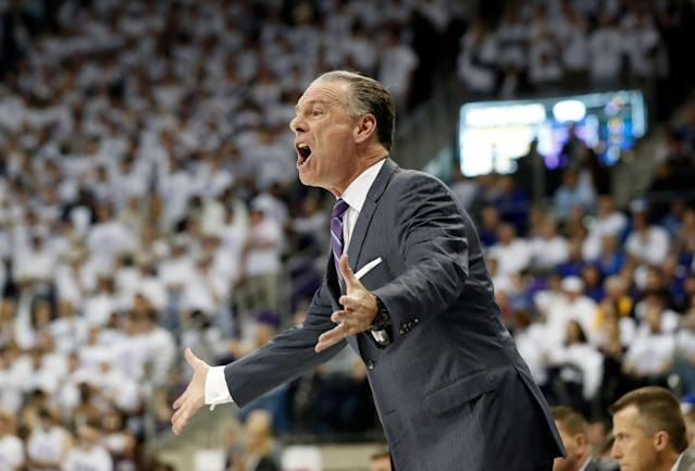 Jamie Dixon, who is reportedly owed an $8 million buyout at TCU, might not be on his way to UCLA after all. (AP Photo/Tony Gutierrez)