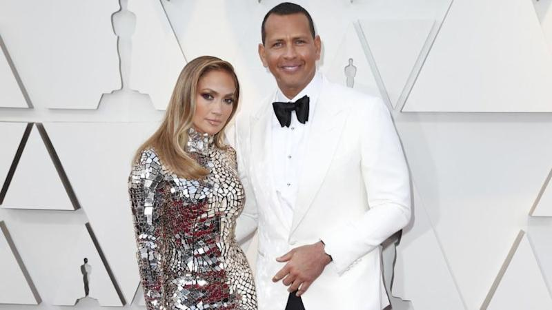 HOLLYWOOD, ?CA ? February 24, 2019 Jennifer Lopez, Alex Rodriguez during the arrivals at the 91st Academy Awards on Sunday, February 24, 2019 at the Dolby Theatre at Hollywood & Highland Center in Hollywood, CA. (Jay L. Clendenin / Los Angeles Times)