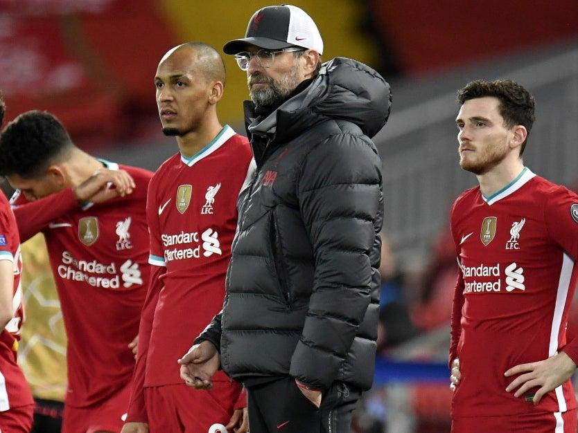 <p>Jurgen Klopp's side suffered defeat against Atalanta</p>EPA
