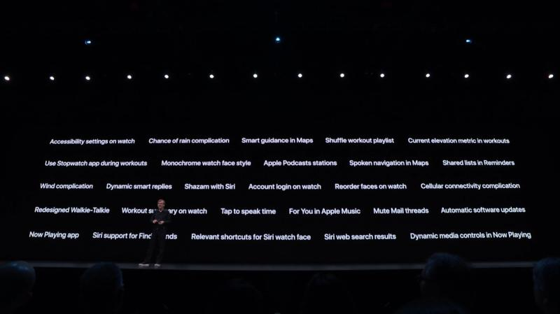 WWDC 2019: Apple WatchOS 6 includes App Store, women's health, more complications