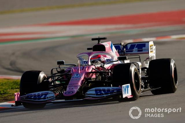 "Sergio Perez, Racing Point RP20 <span class=""copyright"">Glenn Dunbar / Motorsport Images</span>"