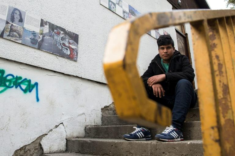 Qayum Mohammadi, 14, says he was sprayed with tear gas in Bulgaria and beaten by officers in Hungary