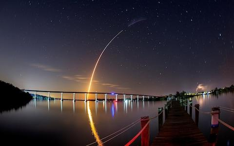 SpaceX Falcon 9 rocket lifts off to ISS from Kennedy Space Center - Credit: REUTERS