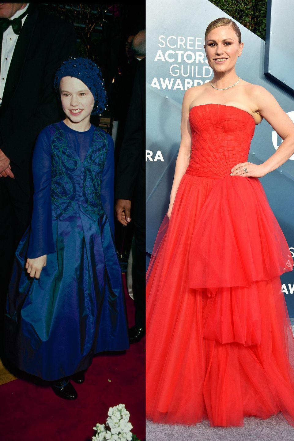 <p>Anna may have grown up quite a bit, but she's still a fan of a full princess skirt. </p>