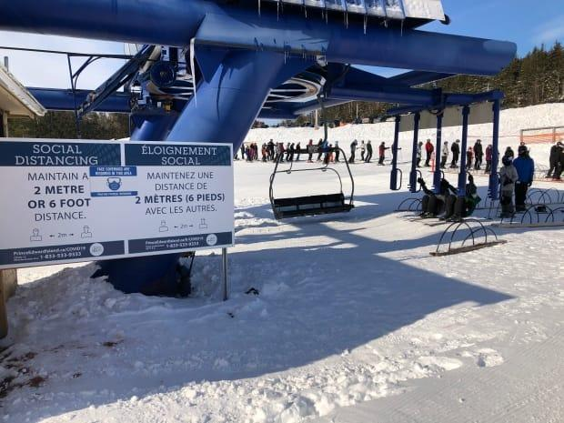 Despite COVID-19 protocols, Mark Arendz Provincial Ski Park at Brookvale has been busy this winter.