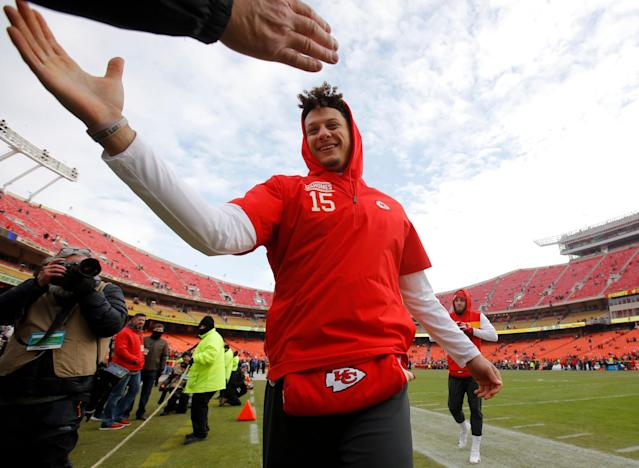 It's not if, but when, Patrick Mahomes will become the highest-paid player in the NFL. (AP)