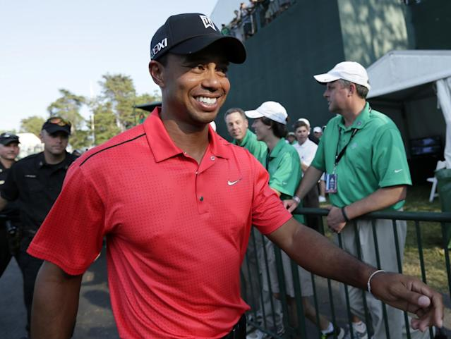 <p>Though he never reached the heights of his early career, Woods did get back to winning, claiming five tournament victories and regaining his world No. 1 status en route to PGA Player of the Year honors in 2013. </p>