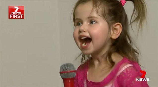 Alliyah Broadby is one Adele's biggest fans. Source: 7 News