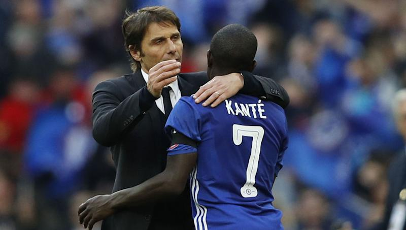 Antonio Conte Claims There's Still One Area of N'Golo Kante's Game He Can Improve On