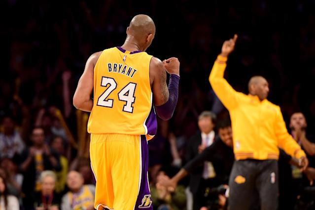 Social media was stunned on Sunday after learning of the death of Kobe Bryant. (Harry How/Getty Images)