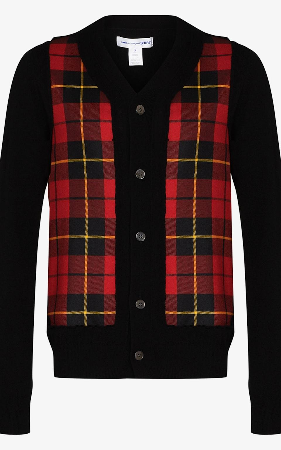 Checked, £335, Comme Des Garcons