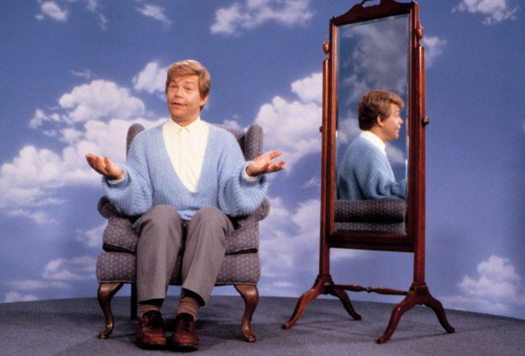 Al Franken's Stuart Smalley character was popular enough to get its own movie. (Photo: Paramount/Courtesy)