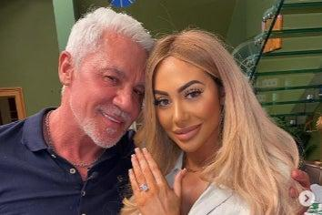 <p>Wayne Lineker has claimed he and Chloe Ferry are engaged</p> (Instagram)