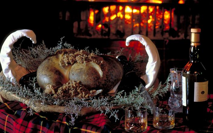 Rejected haggis shipments to the EU meant the traditional Burns Night dinner was off the table for many Scots overseas - VisitBritain/Britain on View