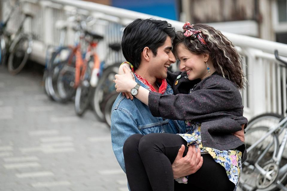 """<p><strong>Bend It Like Beckham</strong> director Gurinder Chadha's new film proves just how universal Bruce Springsteen's timeless lyrics and music is as the inspirational drama follows Javed (Viveik Kalra), a British teenager of Pakistani descent struggling to figure out <a href=""""https://www.popsugar.com/entertainment/Blinded-Light-Movie-Trailer-46102054"""" class=""""link rapid-noclick-resp"""" rel=""""nofollow noopener"""" target=""""_blank"""" data-ylk=""""slk:who he really is"""">who he really is</a> while growing up in Britain in the late 1980s.</p>"""