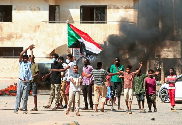 Sudanese protesters take to the streets against a worsening economic crisis and to demand justice for people killed during past demonstrations that toppled president Omar al-Bashir