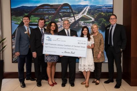 Financial Literacy Coalition of Central Texas Receives $8K Grant from Horizon Bank and FHLB Dallas