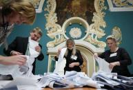 Russian parliamentary election in Moscow