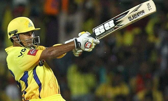 Subramaniam Badrinath's partnership with Raina went in vain as CSK lost to MI in IPL 2010