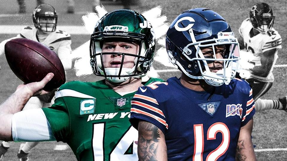 Sam Darnold/Allen Robinson Treated
