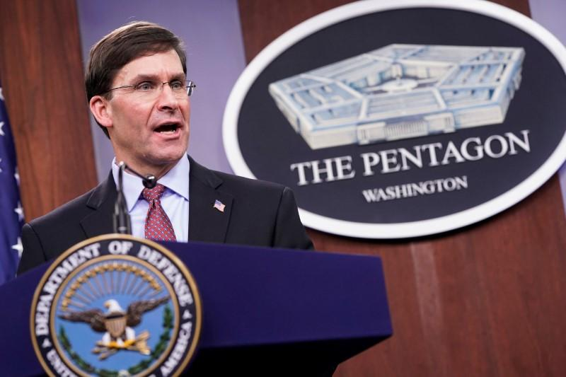 Pentagon could start global troop rebalance this year, Esper says
