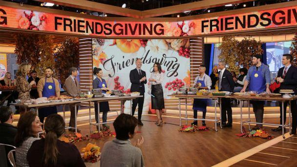PHOTO: The Bon Appetit team joins 'GMA' to celebrate Friendsgiving. (ABC News)