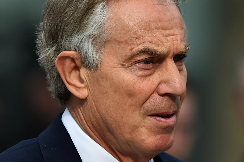Former British prime minister Tony Blair has warned against leaving the European Union (AFP Photo/Ben Stansall)