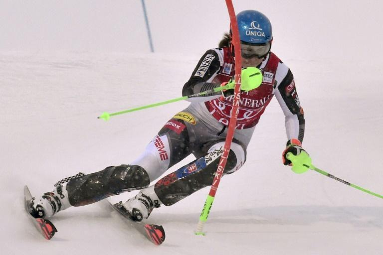 Petra Vlhova made it a slalom double in Levi