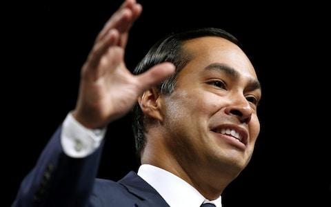 Julian Castro, former United States Secretary of Housing and Urban Development, speaks at the Netroots Nation annual conference for political progressives in New Orleans - Credit: Reuters