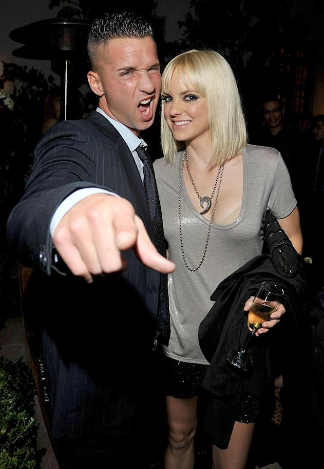 """""""Jersey Shore's"""" Mike """"The Situation"""" Sorrentino proved he has officially gone Hollywood while hanging out with """"The House Bunny's"""" Anna Faris. Lester Cohen/<a href=""""http://www.gettyimages.com/"""" target=""""new"""">GettyImages.com</a> - November 17, 2010"""