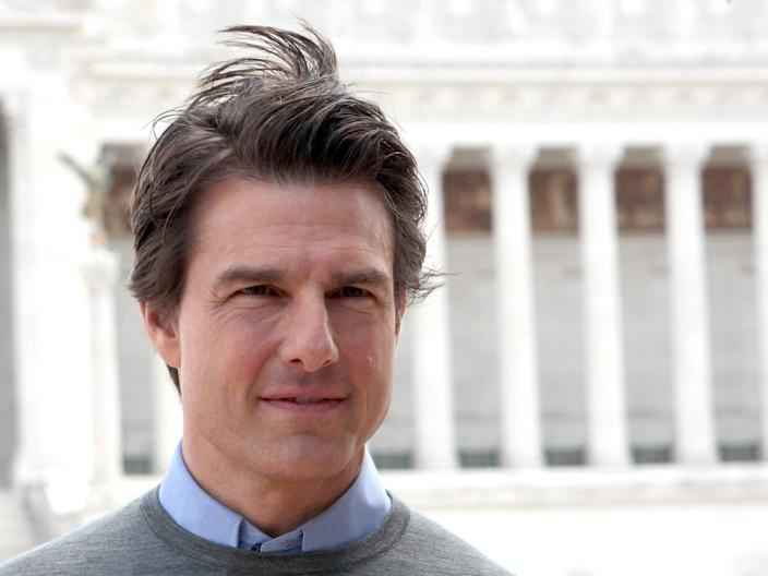 Mission Impossible star Tom Cruise in Rome in 2014.