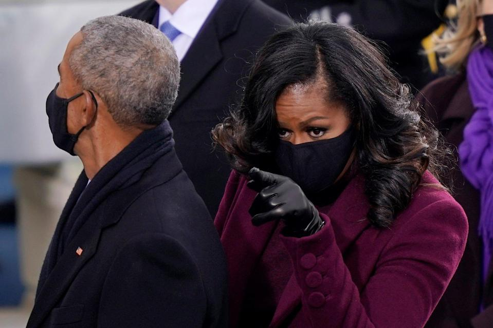 Michelle Obama's Inauguration Makeup Look