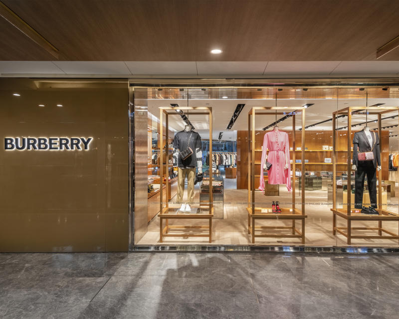 Burberry reopens store in Paragon. (PHOTO: Burberry)