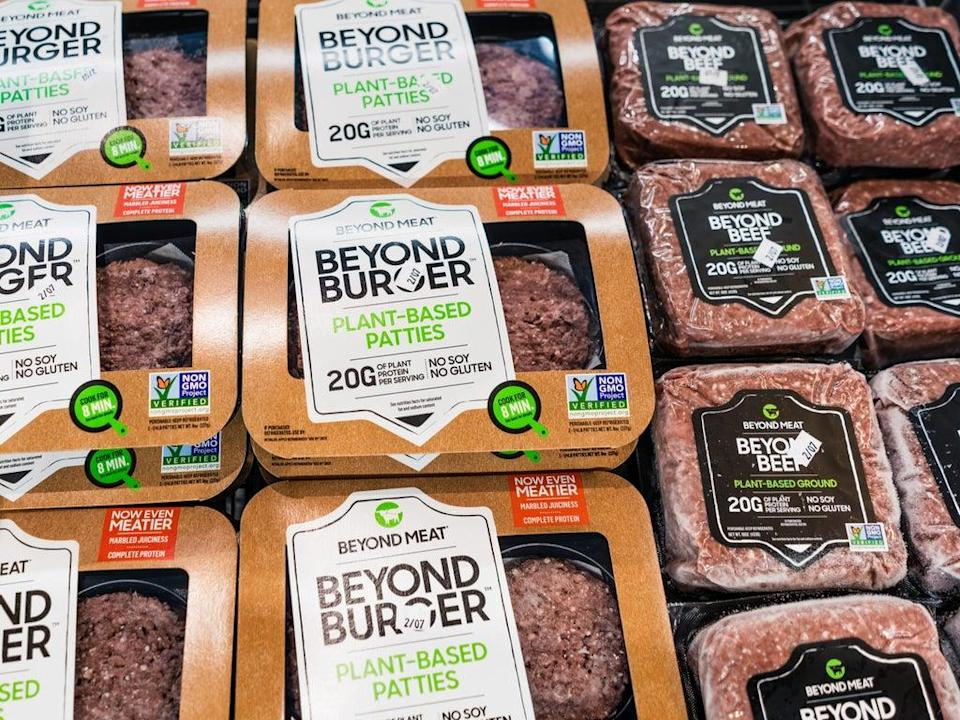 Beyond Burger burger patties and mince (Getty Images)