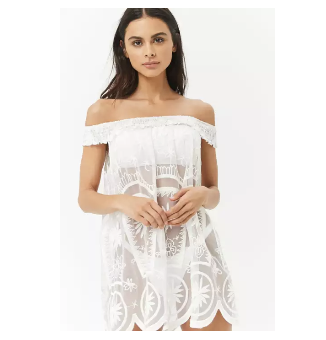 Forever 21 mesh cover-up. (PHOTO: Lazada Philippines)