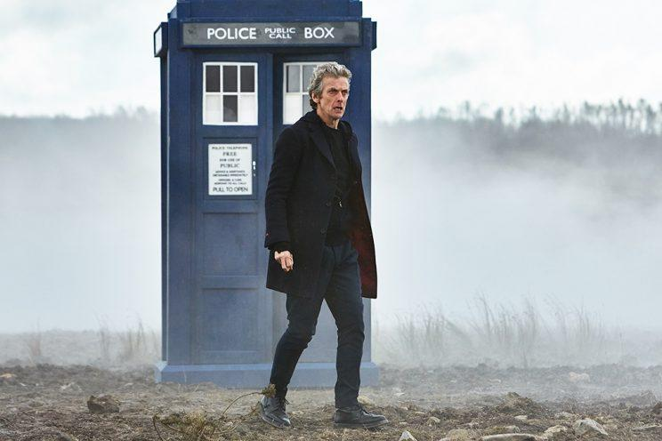 Peter Capaldi in 'Doctor Who' (Credit: BBC America)