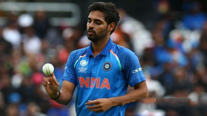 Bhuvneshwar Kumar is the last Indian bowler to have taken a wicket with his first ball in a format