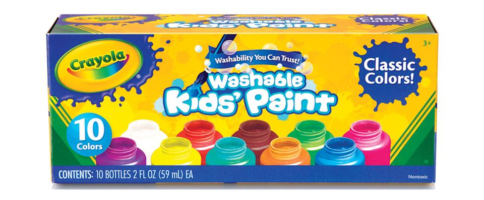 This paint is fully washable! (Photo: Walmart)