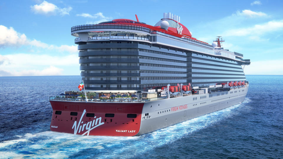 Virgin Voyages has announced its second ship. [Photo: Virgin]