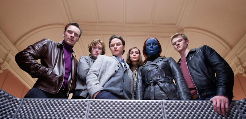 The mutant ensemble from 'X-Men: First Class' (Photo: Murray Close/TM and Copyright ©20th Century Fox Film Corp. All rights reserved./courtesy Everett Collection)