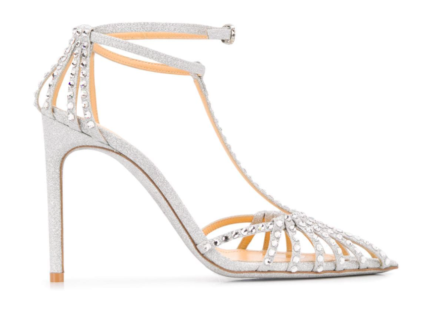 Giannico's Eve sandals. - Credit: Courtesy of Farfetch