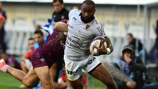 Radradra in action for Toulon. Image: Getty