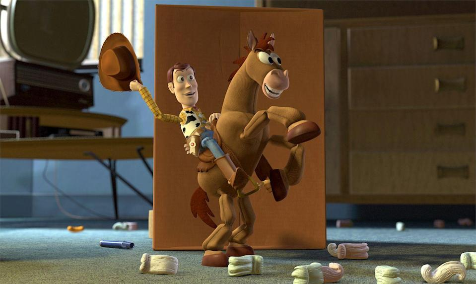 "<p>IMO, <em>Toy Story 2</em> is the pinnacle of the franchise. With the character dynamics already established, this film can hit the ground running, sending the toys on a mission that's remarkably poignant (Jessie's ""<a href=""https://www.youtube.com/watch?v=ElhbTsKsros"" rel=""nofollow noopener"" target=""_blank"" data-ylk=""slk:When She Loved Me"" class=""link rapid-noclick-resp"">When She Loved Me</a>,"" sob) and hilariously gag-filled (Buzz and Zurg do their own <em>Star Wars</em> reveal). </p><p><a class=""link rapid-noclick-resp"" href=""https://go.redirectingat.com?id=74968X1596630&url=https%3A%2F%2Fwww.disneyplus.com%2Fmovies%2Ftoy-story-2%2F6eunXQzaXkGr&sref=https%3A%2F%2Fwww.redbookmag.com%2Flife%2Fg35149732%2Fbest-pixar-movies%2F"" rel=""nofollow noopener"" target=""_blank"" data-ylk=""slk:DISNEY+"">DISNEY+</a> <a class=""link rapid-noclick-resp"" href=""https://www.amazon.com/Toy-Story-2-Tom-Hanks/dp/B0094KT68O?tag=syn-yahoo-20&ascsubtag=%5Bartid%7C10063.g.35149732%5Bsrc%7Cyahoo-us"" rel=""nofollow noopener"" target=""_blank"" data-ylk=""slk:AMAZON"">AMAZON</a></p>"