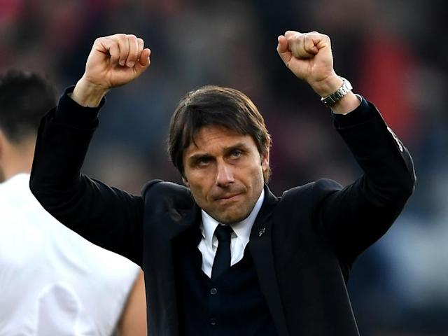 Antonio Conte believes Chelsea are thriving under pressure after yet another comprehensive win