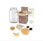 """<p><strong>HappyHerbalistDotCom</strong></p><p>etsy.com</p><p><strong>$32.95</strong></p><p><a href=""""https://go.redirectingat.com?id=74968X1596630&url=https%3A%2F%2Fwww.etsy.com%2Flisting%2F724096260%2Fkombucha-complete-starter-kit-includes&sref=https%3A%2F%2Fwww.prevention.com%2Flife%2Fg27288061%2Ffathers-day-gift-ideas%2F"""" rel=""""nofollow noopener"""" target=""""_blank"""" data-ylk=""""slk:Shop Now"""" class=""""link rapid-noclick-resp"""">Shop Now</a></p><p>Making a homemade batch of kombucha is just as rewarding as brewing beer—and maybe even more exciting. This starter kit has everything he'll need, including a SCOBY, a manual, and several types of teas to sample.</p>"""