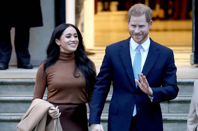 Prince Harry, Duke of Sussex and Meghan, Duchess of Sussex (Getty Images)